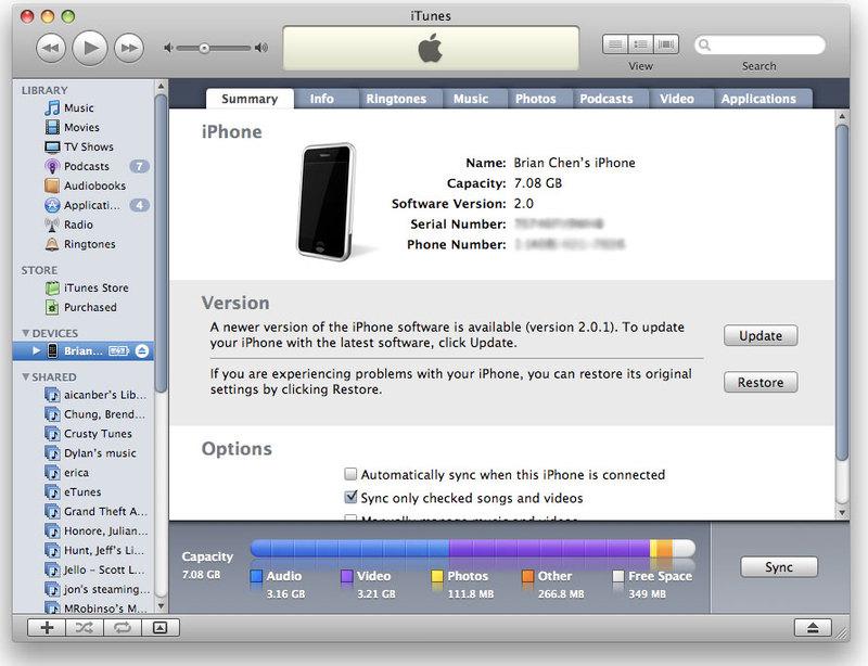 Как обновить айфон 5 s через айтюнс - bb0